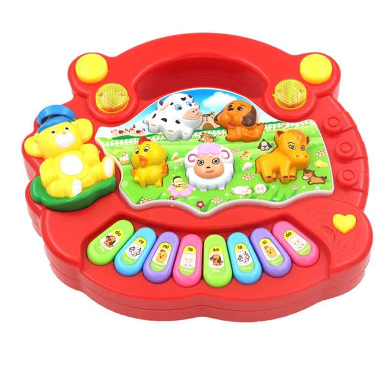 Baby Musical Toys : Baby toys music cartoon instrumento musical infantil funy