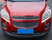 2pcs for Chevrolet TRAX 2014 2017 Headlight eyebrow decorate Trim