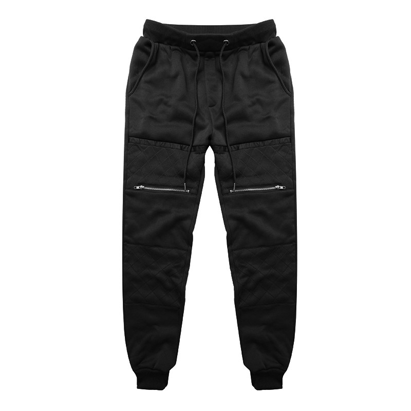 Zogaa Men Thick Sweatpants Winter Warm Joggers Fleece Lined Baggy Long Pants Casual Hip Hop Trousers Gyms-clothing Plus Size