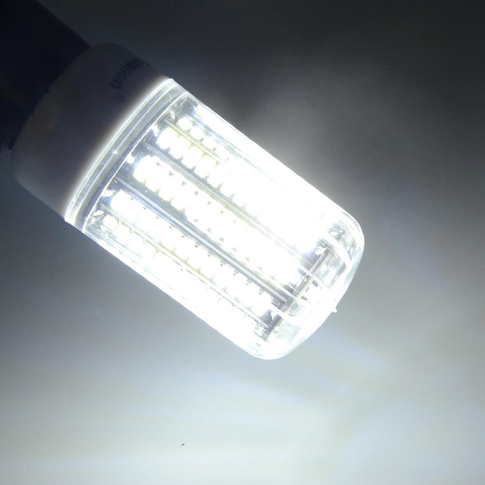 E27 Led Light Bulbs 220V 110V Bombillas Led Lamp Night Light 24 30 42 64 LEDs 5730 Corn Bulb Radiation Cover Spotlighting
