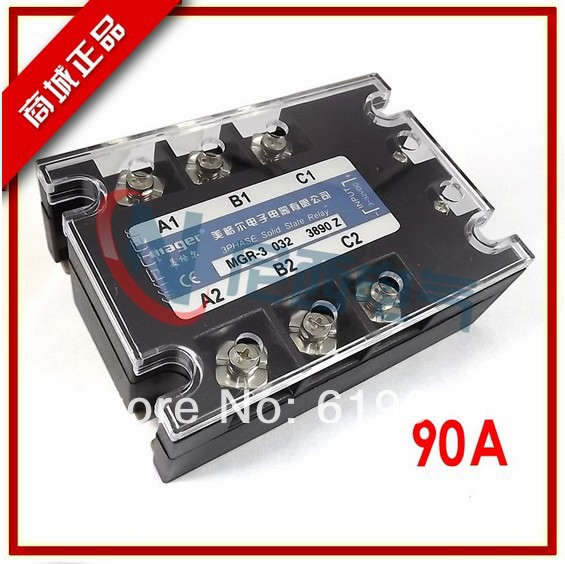ФОТО Three-phase solid state relay DC -AC  MRSSR-3 MGR-3 032 3890Z 90A