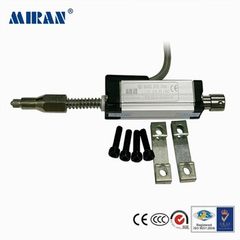 Miran KTR de 10-200mm posición lineal Sensor de gran precisión envío gratis gobernante absoluta auto-retorno Sensor de desplazamiento/transductor
