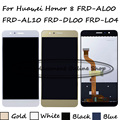 Para huawei honor 8 display lcd + touch screen digitador assembléia substituição frd-al00 frd-al10 frd-dl00 frd-l04