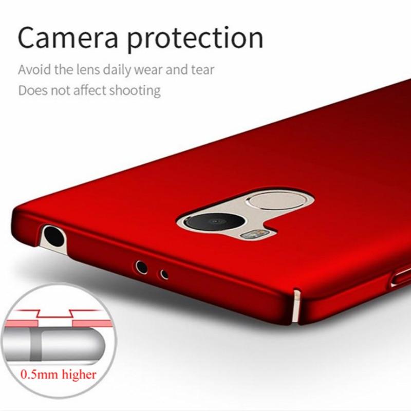 Lyxig hårbaksplast COVER-fodral för Xiaomi redmi 4 Pro-skal till - Reservdelar och tillbehör för mobiltelefoner - Foto 5