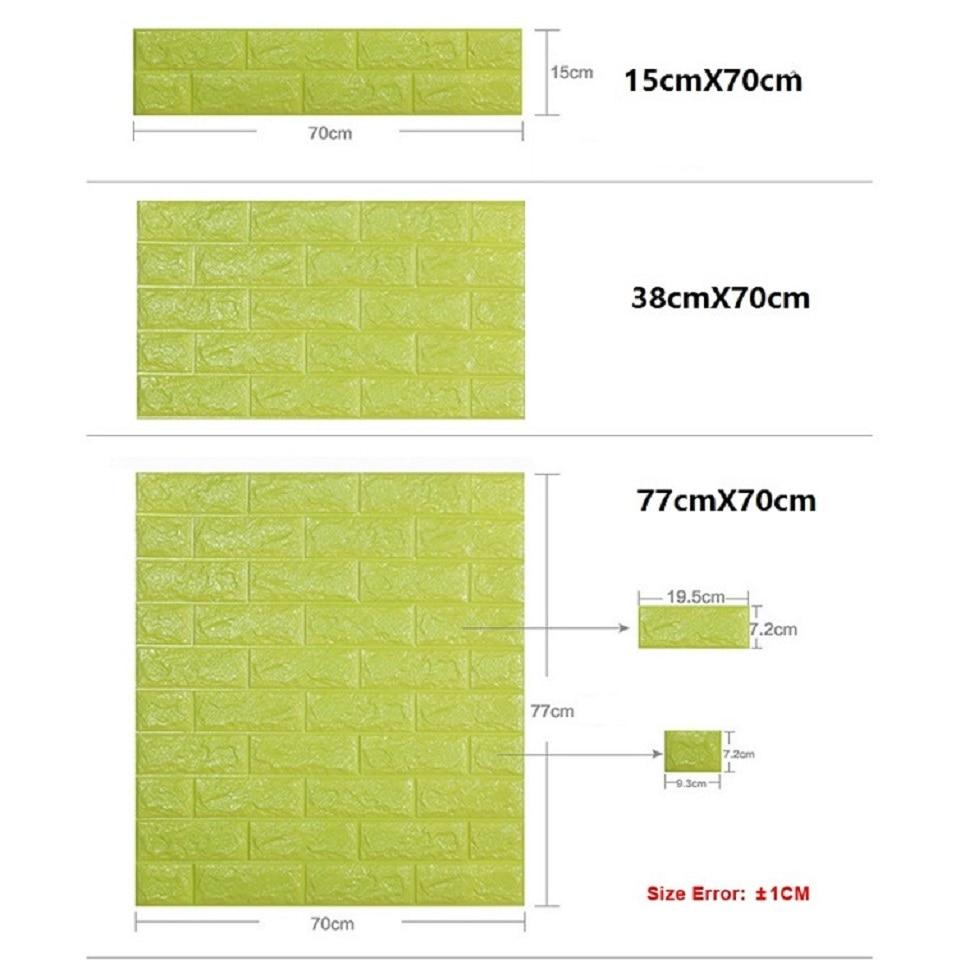 Brick Wall Stickers 3