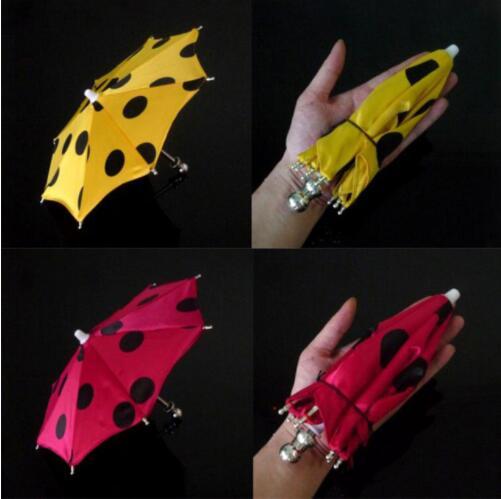 1 Pcs Super Mini Magic Umbrella 21cm Length Magic Tricks (9 Color Can Choose) Mini Umbrella Use For Hand Stage Magic Prop Toys