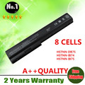 Wholesale New 8cells laptop battery  FOR HP Pavilion DV7 DV8 HDX X18 series HSTNN-OB75  KS525AA HSTNN-IB75  free shipping