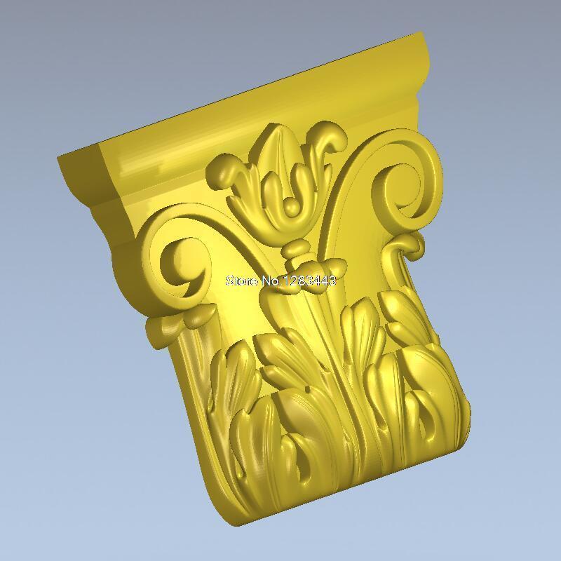 High Quality New 3D Model For Cnc 3D Furniture Decoration 3D Carved Figure Sculpture Machine In STL File Decor_43