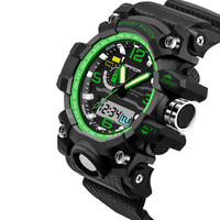 Multifunctional luminous electronic watch waterproof sports youth watch
