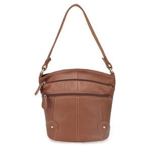 Image 1 - 100% Eerste Laag Koeienhuid Echt Leer Vrouwen Messenger Bags Vrouwelijke Kleine Schoudertassen Vintage Crossbody Tassen Bolsas MM2318