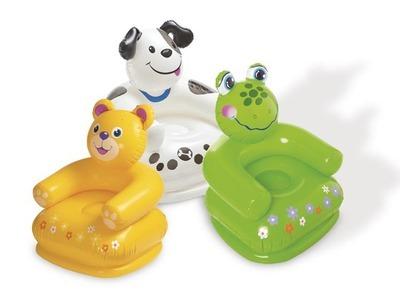 2017 Nuevo bebé pequeño sofá lindo pato Inflable bañera bebé heces Del Bebé Niños bebé animal silla portátil de viaje