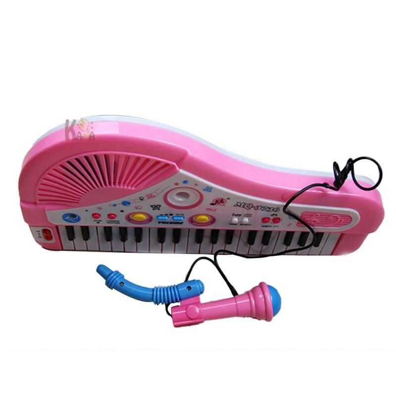 37 clés enfants bébé musique jouets Instumento Musical enfants bébé Piano avec Microphone Instruments de musique pour enfants - 4