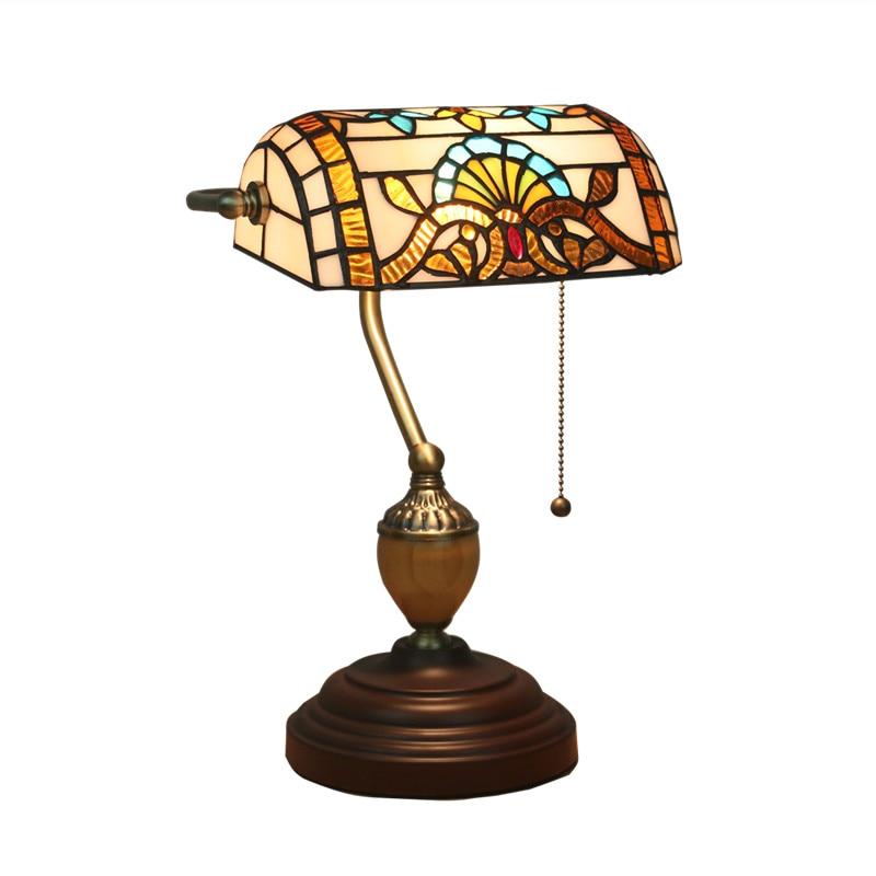 Sammlung Hier Klassische Vintage Banker Lampe E27 Tisch Lampe Glas Lampenschirm Für Schlafzimmer Studie Hause Lesen Schreibtisch Lichter Lampen & Schirme Licht & Beleuchtung