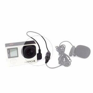 Image 2 - 3.5mm חיצוני מיקרופון מתאם כבל עבור GoPro Hero 4/3 +/3