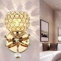 Креативный современный минималистичный Хрустальный настенный светильник для спальни  прикроватный светильник для гостиной  коридора  нас...