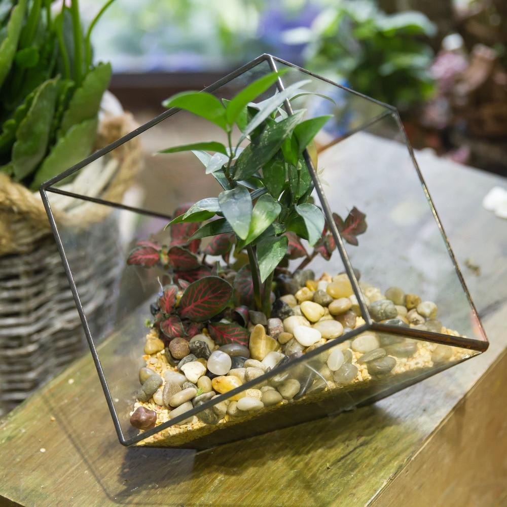 Handgemaakte tafelblad succulente installatie Micro landschap - Tuinbenodigdheden - Foto 5