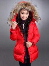 Thumbaby Winter Baby Girls Clothing Fashion Down Coat For Girls Coat Baby Girls Clothes Outerwear Jacket