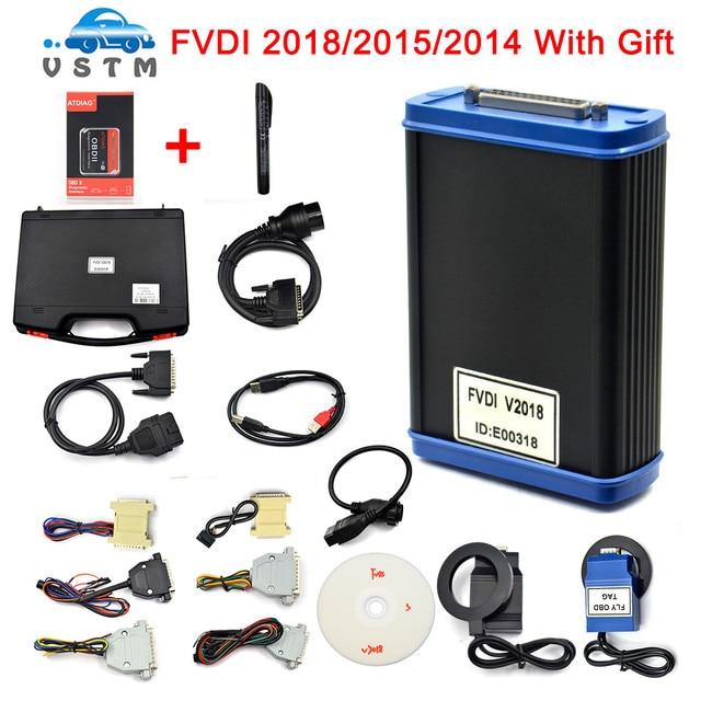 FVDI 2018 Original FLY FVDI ABRITES Commander FVDI Full Version (18 Software) No time limited FVDI V2018/2015