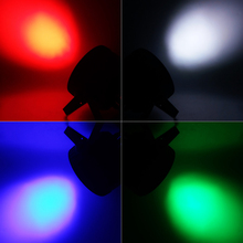 4pcs/lot Free&Fast shipping hot new Wireless remote control Black LED Par Can 64 LED Par64 LED Tri 7 RGB 7x 9W