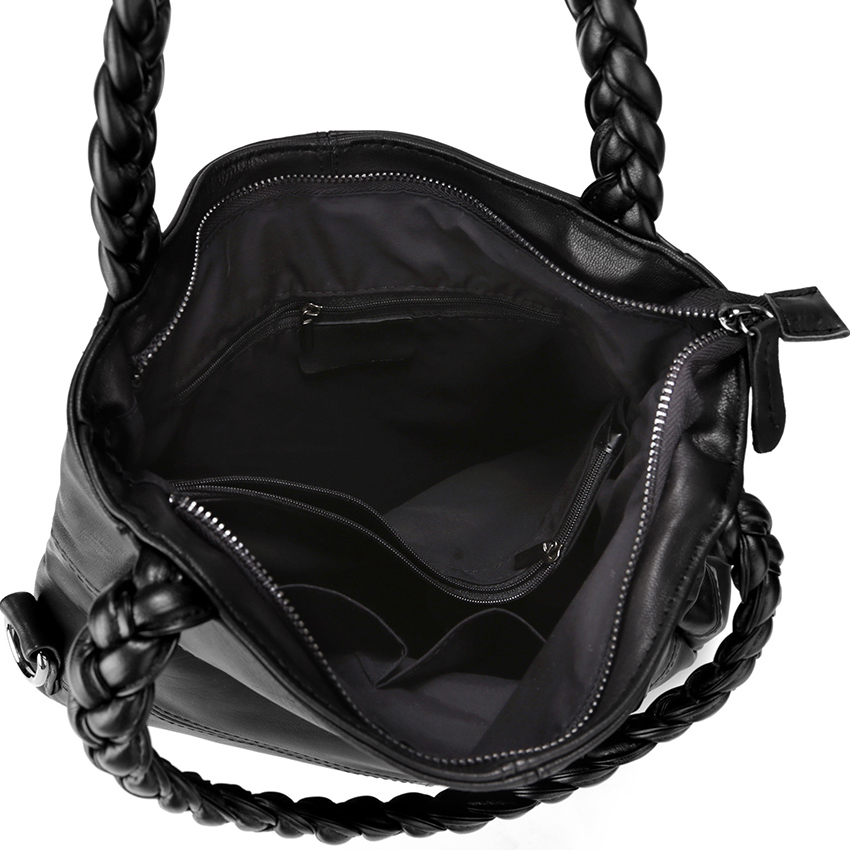 famosa mulheres Bag Estilo1 : Genuine Leather Women Sheepskin Bag