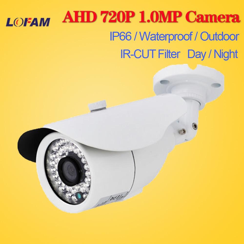 bilder für LOFAM AHD Cctv-kamera 1200TVL Ir-sperrfilter 1.0MP AHD Kamera 720 P Freien Wasserdichte Gewehrkugel Startseite Überwachung Überwachungskamera