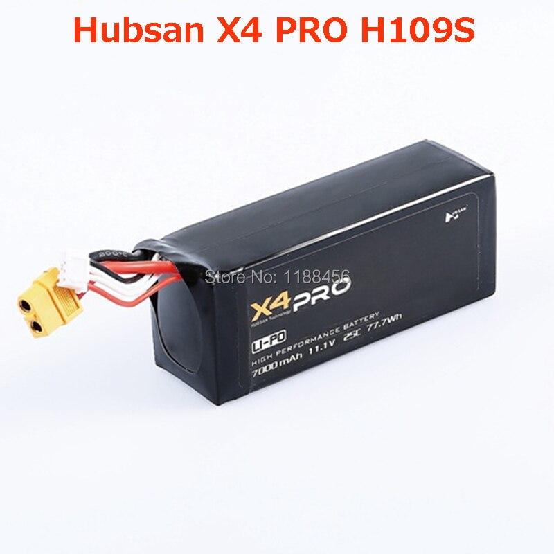 (auf Lager) Ursprüngliche Hubsan X4 Pro Batterie (h109s Batterie) 11,1 V 7000 Mah Akku Ersatzteile Zubehör Kostenloser Versand Mild And Mellow