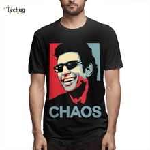 Graphic For Unisex Jurassic Park T-Shirt Ian Malcolm Chaos Dinosaur Tee Shirt Novelty 3D Print Graphic For Man Tee shirt