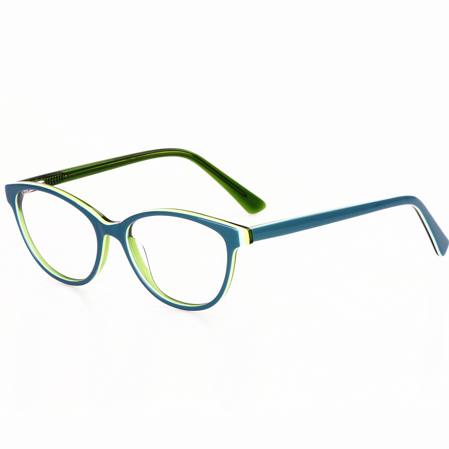 Image 4 - LOGORELA Glasses Optical Eyewear Frame Computer Spectacles Prescription Reading Eyeglasses Fashion Accessories Acetate Frame-in Men's Eyewear Frames from Apparel Accessories