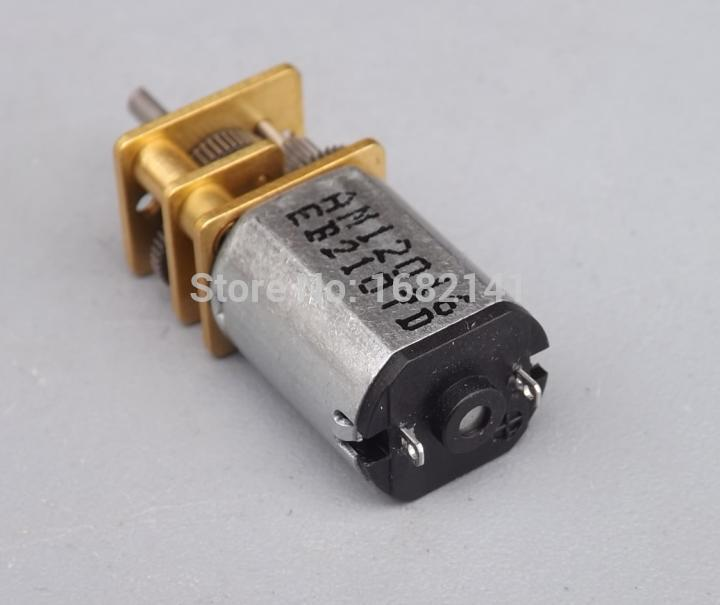 10pcs lot n20 dc 3v 5v 6v 9v gear motor n20 dc motor of for Low speed dc motor 0 5 6 volt