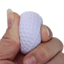 JHO-Golf ball for Golf training Soft PU Foam Practice Ball – white