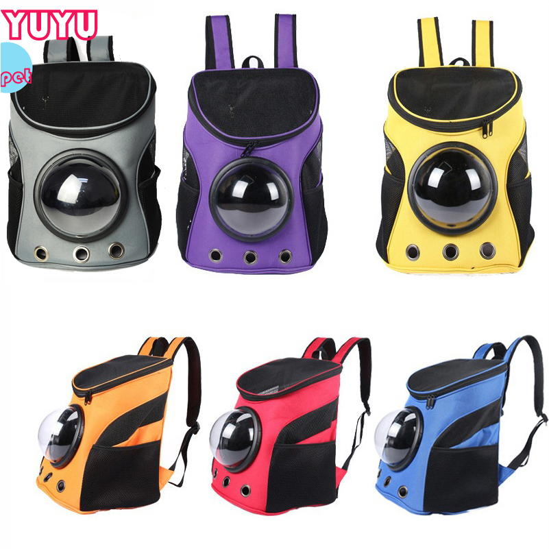 Pet Carrier Bacakpack Cat Dog Space Backpack Small Animal Outdoor Backpack Pupply Travel Bag Portable Multi