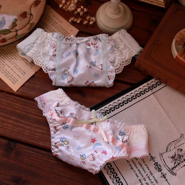bec7acf72 Angel White Milk Silk majtki damskie bragas mujer seamless panties culotte  femme sous vetement femme majtki tanga mujer panty