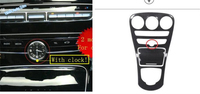 Lapetus Car Styling Stalls Gearshift Box Water Cup Holder Cover Trim For Mercedes Benz GLC X253 / C CLASS W205 C200 2015 2018