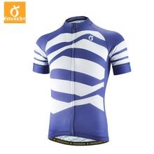 Новая ткань emonder Top Blue PRO TEAM Велоспорт Джерси с коротким рукавом альпинистская велосипедная Экипировка Ropa Ciclismo