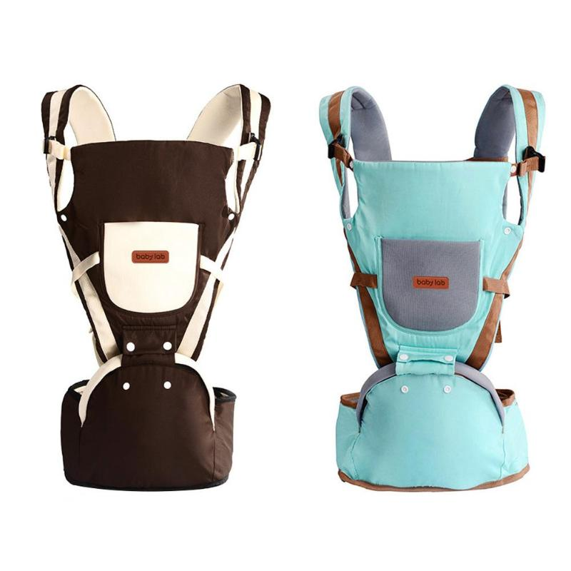 4 In 1 Infant Comfortable Safe Sling Backpack Wrap Baby Travel Cute Baby Breathable Firm Front Facing Baby Carrier  0-30 Months