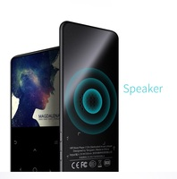 Bluetooth MP4 Player Support Speaker HIFI Lossless Music Player 2.4 HD Inch Screen Video FM Radio Recording SD Card Up To 128G