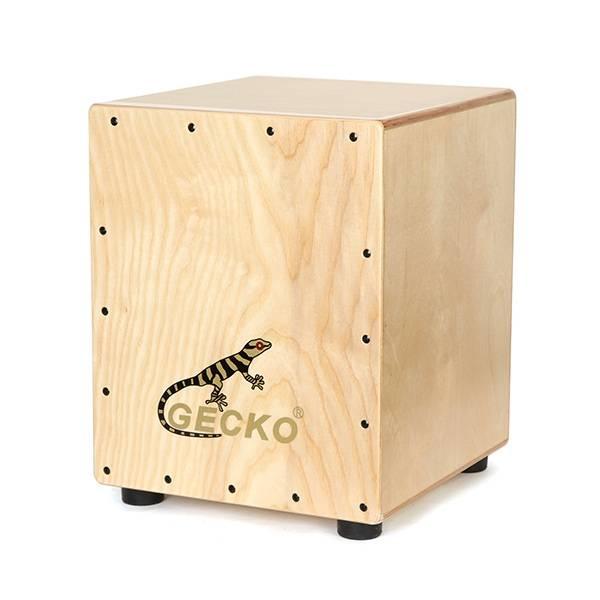 Gecko CM060 Manchurian Ash Wood Cajon Drum with Bag