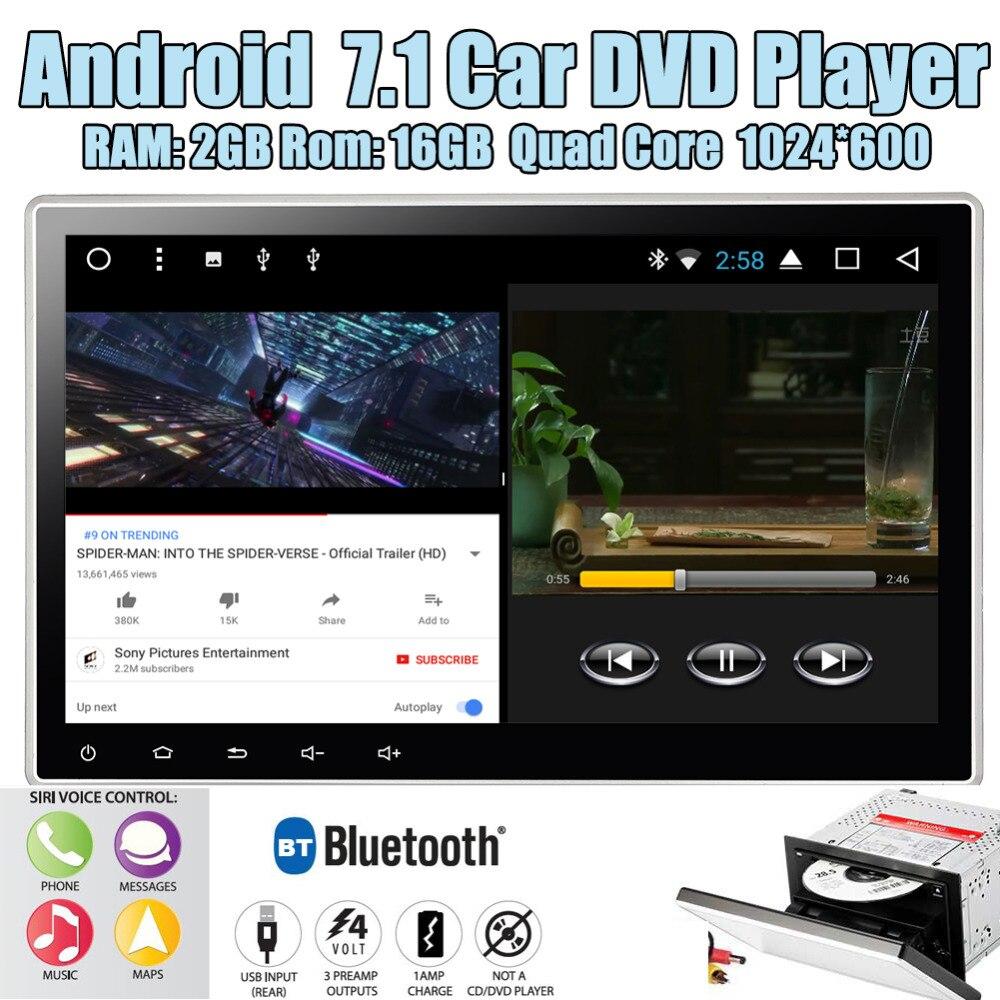 В тире gps навигации DVD CD плеер Авто Радио Bluetooth Стерео разделение экран Wi Fi 3g 4G USB SD FM/AM RDS радио 1080 P Eincar