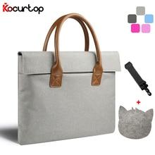2017 High Quality Portable KUMON laptop Bag For Macbook Air Pro Men Women Handbag For Surface/Lenovo/Dell/HP/Acer 11 12 13 14 15