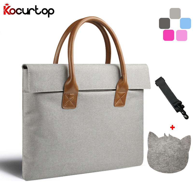 2019 High Quality Portable KUMON Laptop Bag For Macbook Air Pro Men Women Handbag For Surface/Lenovo/Dell/HP/Acer 11 12 13 14 15