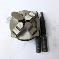 4 çene Mini Torna Aynası Kendini Merkezleme Chuck SANOU K02-50 M14 * 1 konu 2 ''Inç 50mm