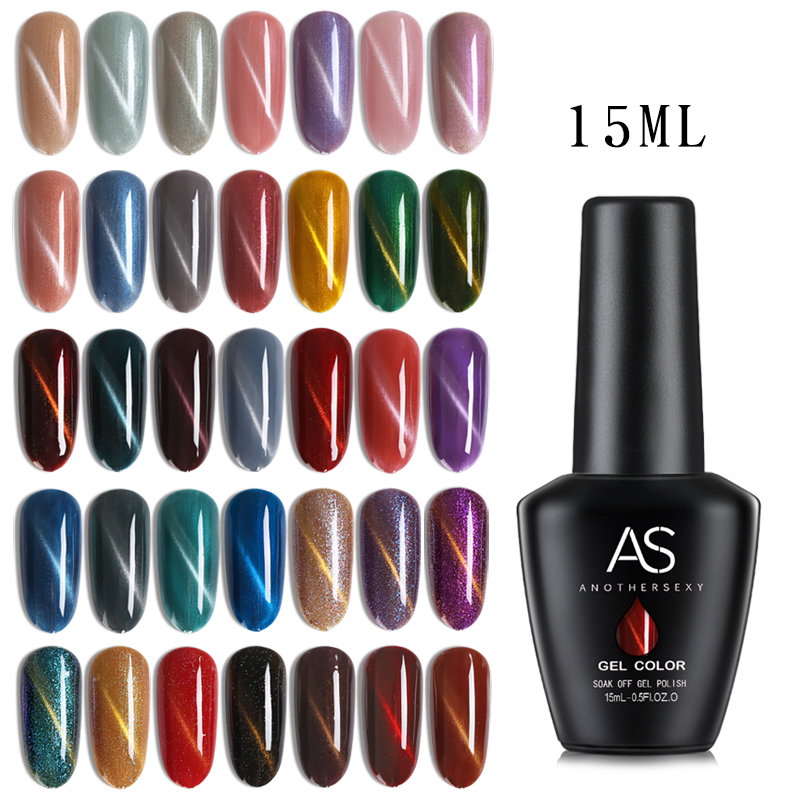 цена на 36 Cat Eye 3D Gel Polish Cat Eye Gel Soak Off LED UV Nail Art Gel Lacquer Varnish Cat Eye Gel V