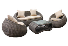 2017 Modern Design resin wicker patio cheap indoor pool furniture(China)