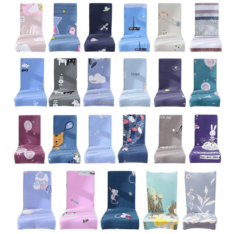 Home & Garden Thin Removable Anti-dirty Chair Cover Stretch Elastic Printing Slipcovers E5m1 Harmonious Colors