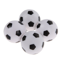 Quality 4Pcs SET 36mm Soccer Table Foosball ABS Plastic Replacement Ball font b Football b font