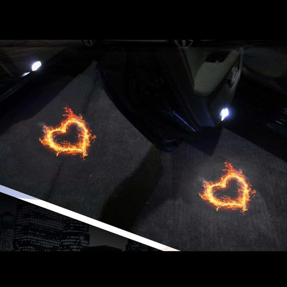 자동차 문 환영 레이저 프로젝터 로고 문 유령 - 자동차 조명 - 사진 6