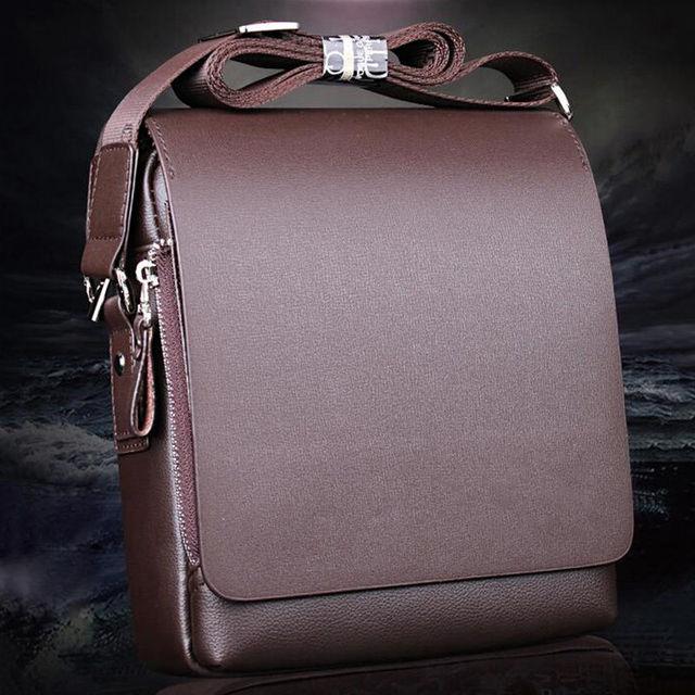 Couro do PLUTÔNIO dos homens da Bolsa Maleta Bolsa de Ombro Laptop saco do Mensageiro Saco de Caso de Negócio