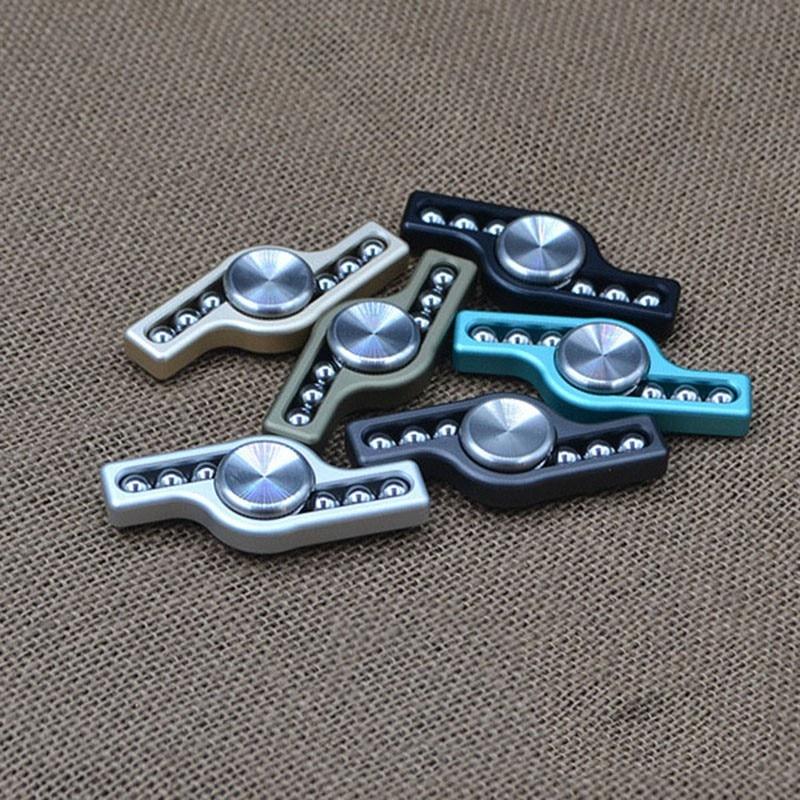 Tri-Непоседа Игрушки Пластиковые EDC Руки Spinner Spinner Для Аутизма и СДВГ Для Детей Afults с Коробкой