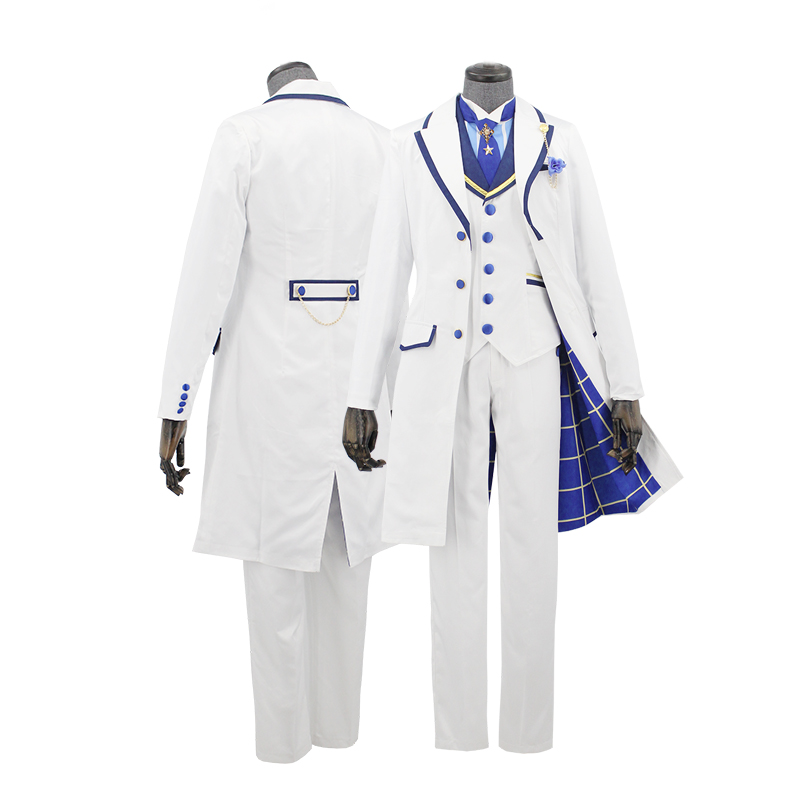Fate Grand Order Arthur Pendragon White Rose King Of Knights Cosplay Costume Prototype Fullset Halloween Costumes For Women/Men