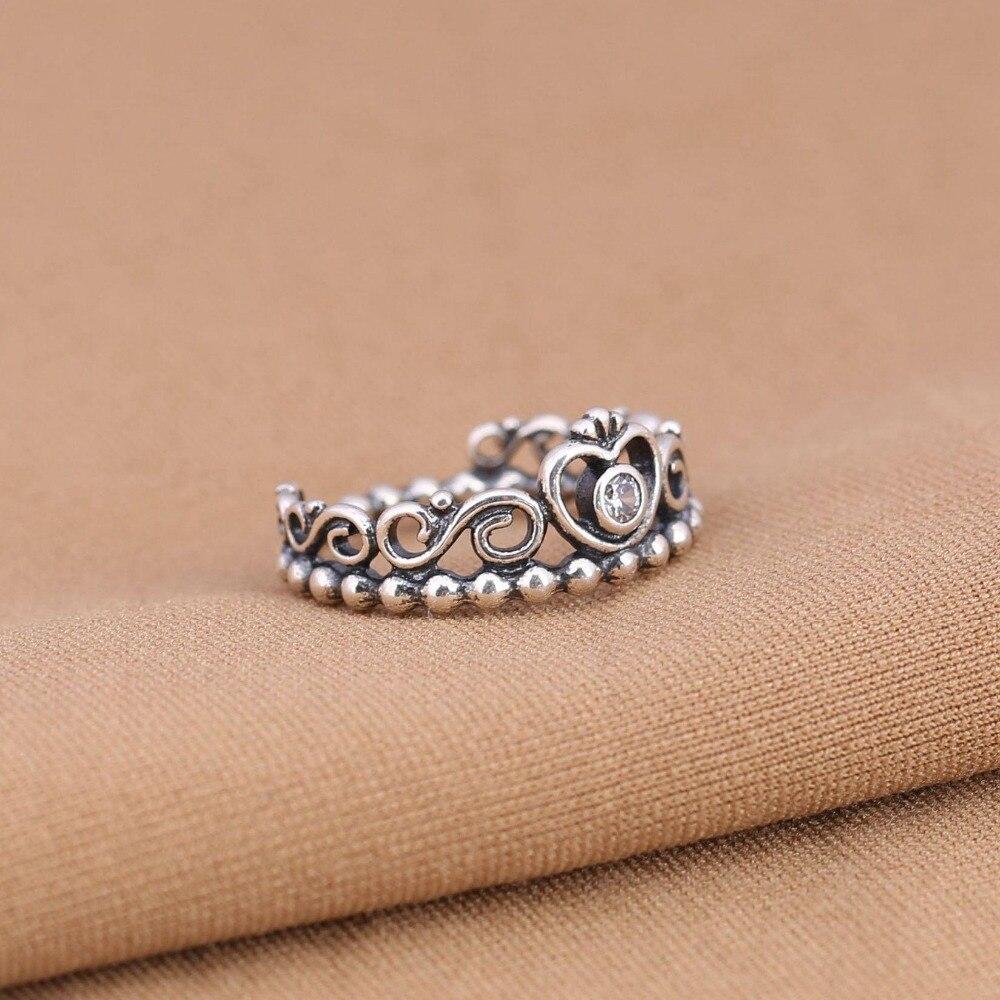 anello di pandora con la corona